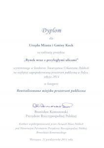 Dyplom Prezydent