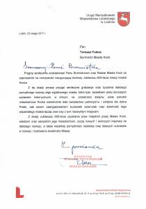 List gratulacyjny-Jubileusz